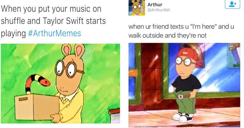 classic arthur memes