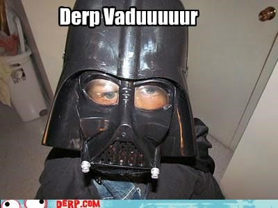 costume darth vadar derp star wars - 5381401344