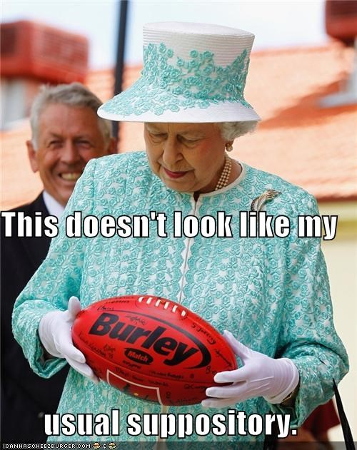 political pictures Queen Elizabeth II rugby - 5381565440