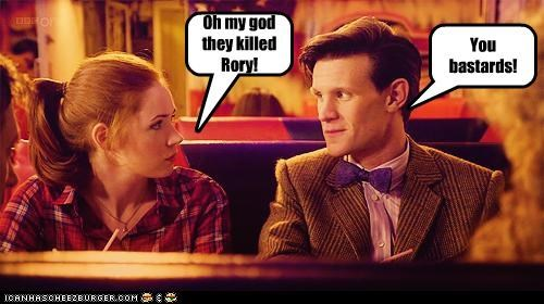 Death,doctor who,karen gillan,Kenny,killed,Matt Smith,oh my god,rory williams,South Park,the doctor