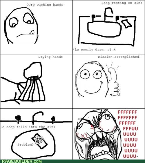 hygiene,Rage Comics,sink,soap