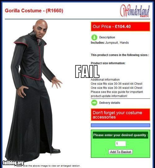 costume failboat g rated halloween racist