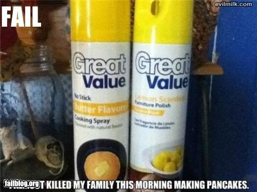 Pancake Spray