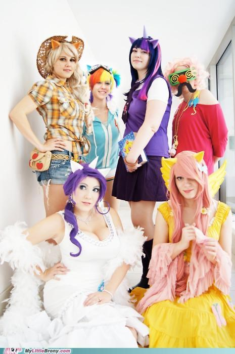 best of week,Bronies,clopjobs,cosplay,fandom base,For the Dudes,mane six,ponies