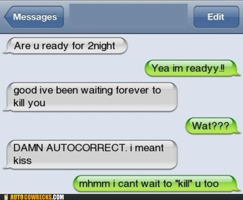 autocorrect dating kill KISS relationships - 5382357760
