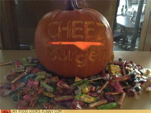cheezburger cheezhq in house jack o lanterns - 5382544384
