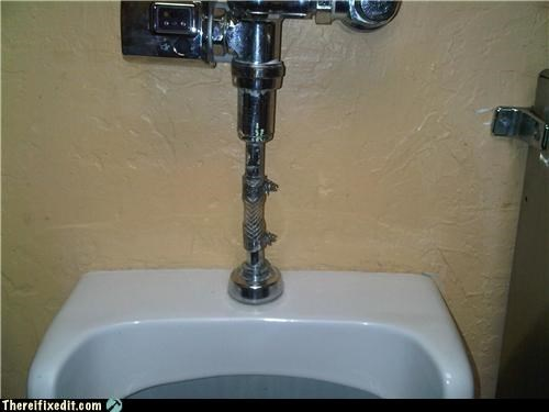 bathroom kludge plumbing urinal
