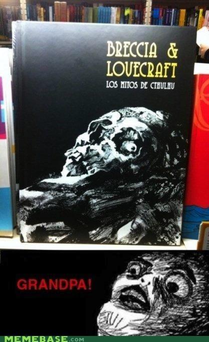 books breccia Death Grandpa lovecraft raisins-super-fuuuu skull - 5382589696