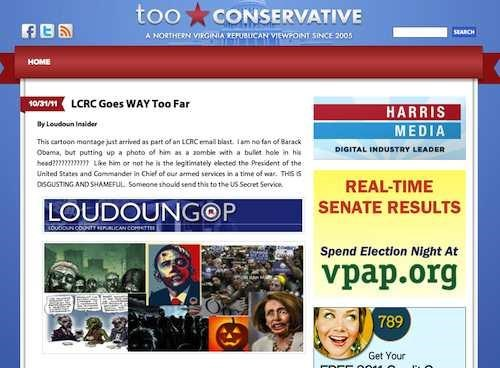 Loudoun GOP Trick Or Threat virginia - 5382645760
