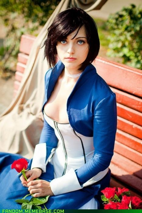 bioshock,bioshock infinite,cosplay,Elizabeth,video games