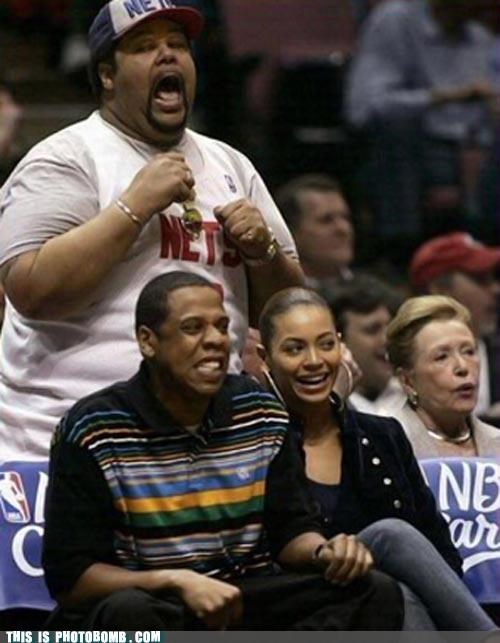 annoying person behind you basketball best of week beyoncé Bombosaurus Jay Z nets