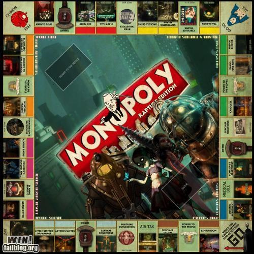 board game custom DIY monopoly nerdgasm video game