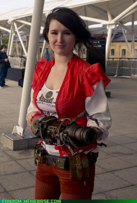 chell cosplay Portal Steampunk - 5382891264