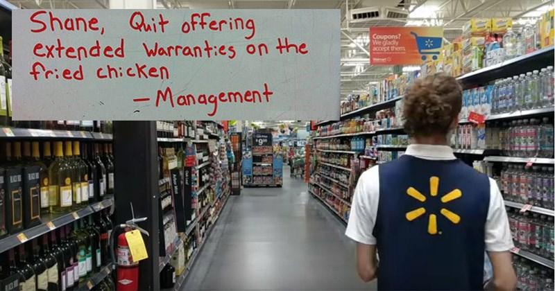 walmart iconic employee shane