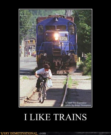 bad idea,idiots,kid,trains