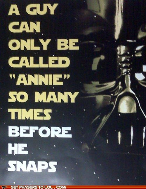 anakin skywalker annie darth vader snap star wars - 5383011584