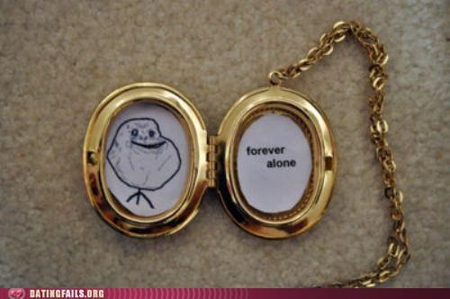 forever alone,jewellery,locket,Photo,We Are Dating