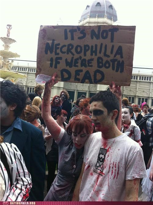 dead Hall of Fame necrophilia zombie walk zombie
