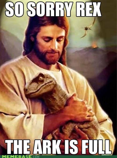 ark christmas dinosaurs jesus LOL Jesus - 5383162368