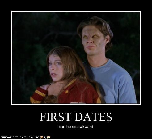 Awkward Buffy the Vampire Slayer first dates vampire - 5383614208