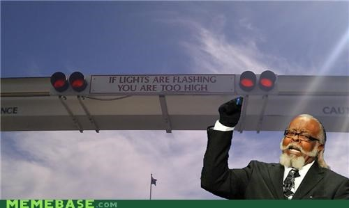 bright,flashing,jimmy mcmillan,lights,traffic,truck