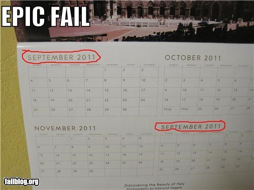 calendar failboat g rated math is hard