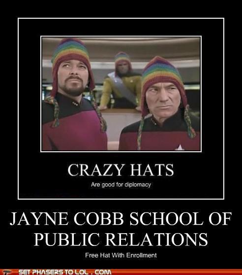 Captain Picard free hat hats jayne cobb Jonathan Frakes patrick stewart pr Star Trek - 5383726080