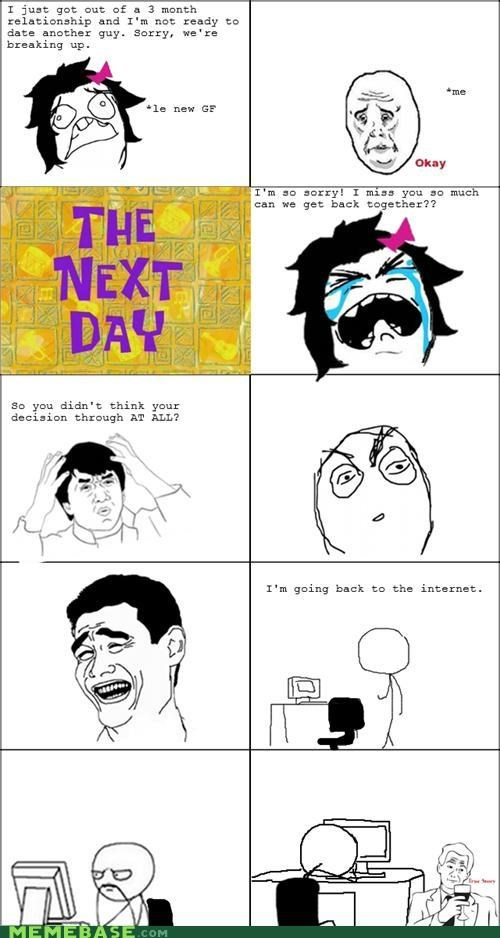 internet,Rage Comics,relationships,Sad