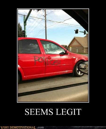 car hilarious police seems legit - 5384563712