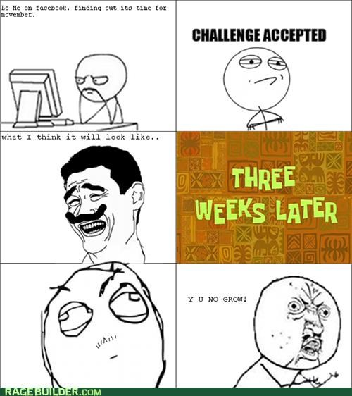 moustache november Rage Comics stubble - 5384622080