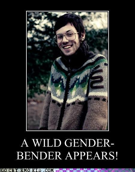 androgyny gender bender hipsterlulz Pokémon - 5384814848