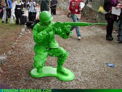 cosplay,cute,toy soldier,toys