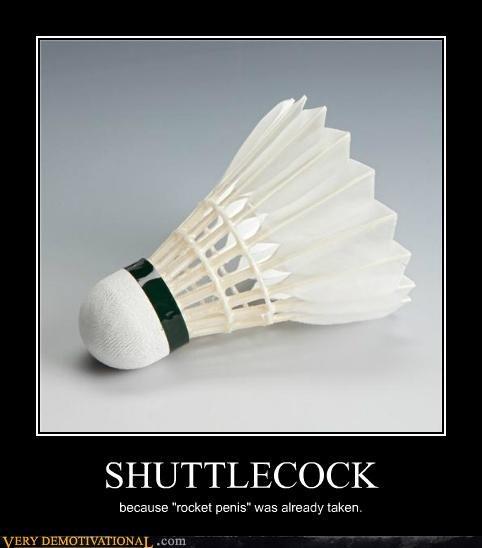 hilarious no no tubes rocket shuttlecock - 5385092608