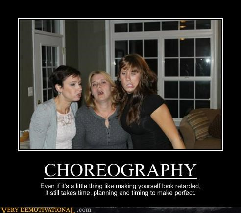 choreography hilarious ladies wtf - 5385358080
