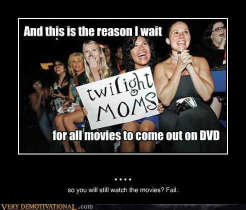 .... so you will still watch the movies? Fail.