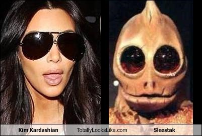 celeb funny kim kardashian Sleestak TLL - 5385688832