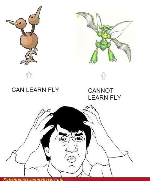 best of week,cannot learn fly,dafuq,doduo,doduo copter,Memes,scyther