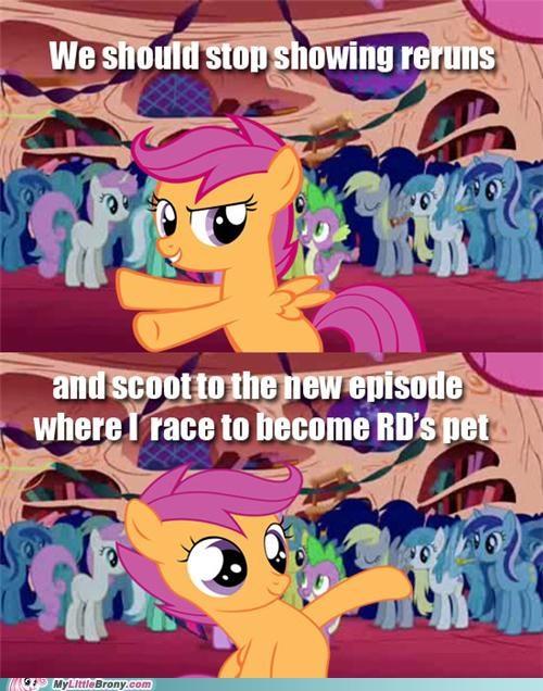 meme new episode Scootaloo scooting scootaloo - 5386089984