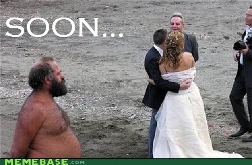 beach Bombosaurus hairy SOON wedding crasher - 5386140672