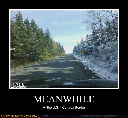 border,Canada,Pure Awesome,snow,usa