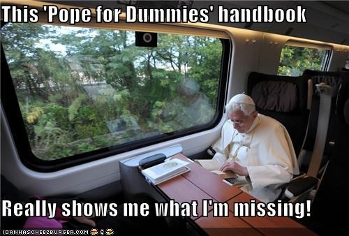 pope,pope for dummies,Pundit Kitchen,the pope