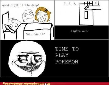accessories,best of week,gameboy,gameboy color,little derp,Rage Comics,time to play pokemon