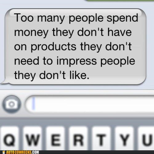 impress,iphone,money,showing off
