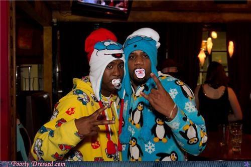 gangsta pajamas penguins - 5386897152