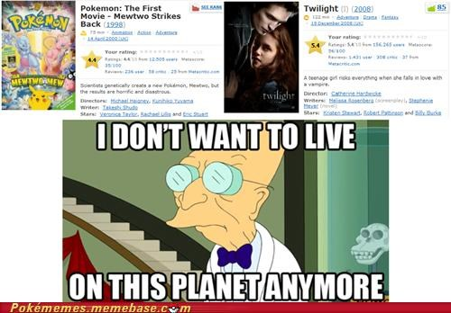 i dont want to live on this planet anymore IRL Pokémon twilight - 5386994944