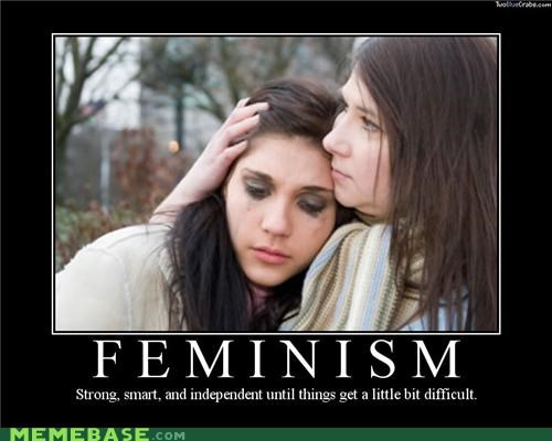 difficult feminism Mean People mr sensitive wtf - 5387256576
