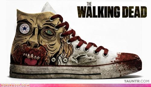 awesome breaking bad Dexter fashion funny Hall of Fame shoes The Walking Dead TV - 5387373568