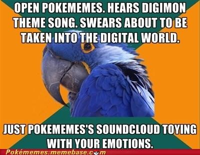 digital world meme Memes Paranoid Parrot soundcloud trololololo - 5387427584
