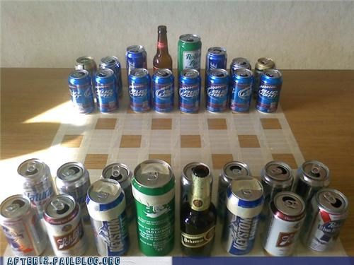 beer beer can best board game chess game win