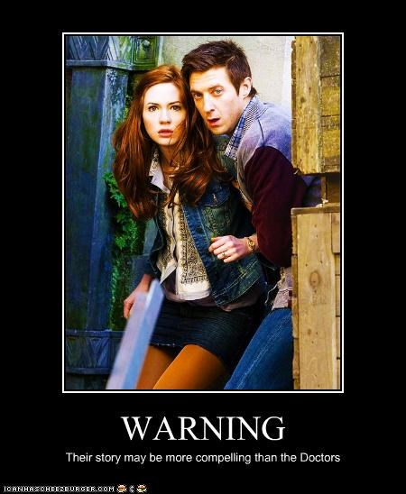 amy pond arthur darvill doctor who karen gillan rory williams story the doctor warning - 5387490816